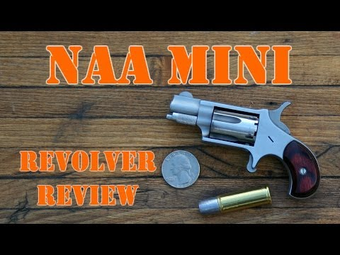 NAA Mini Revolver Review: .22 LR Micro Gun