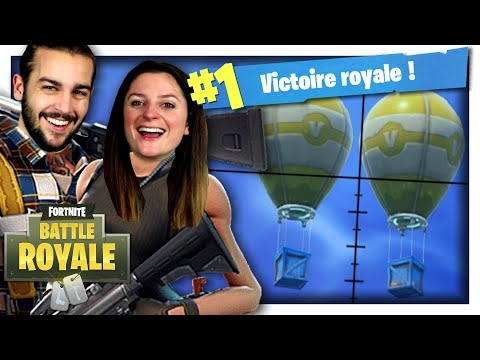 DOUBLE DROP = LANCE MISSILE GUIDÉ ! | FORTNITE DUO FR