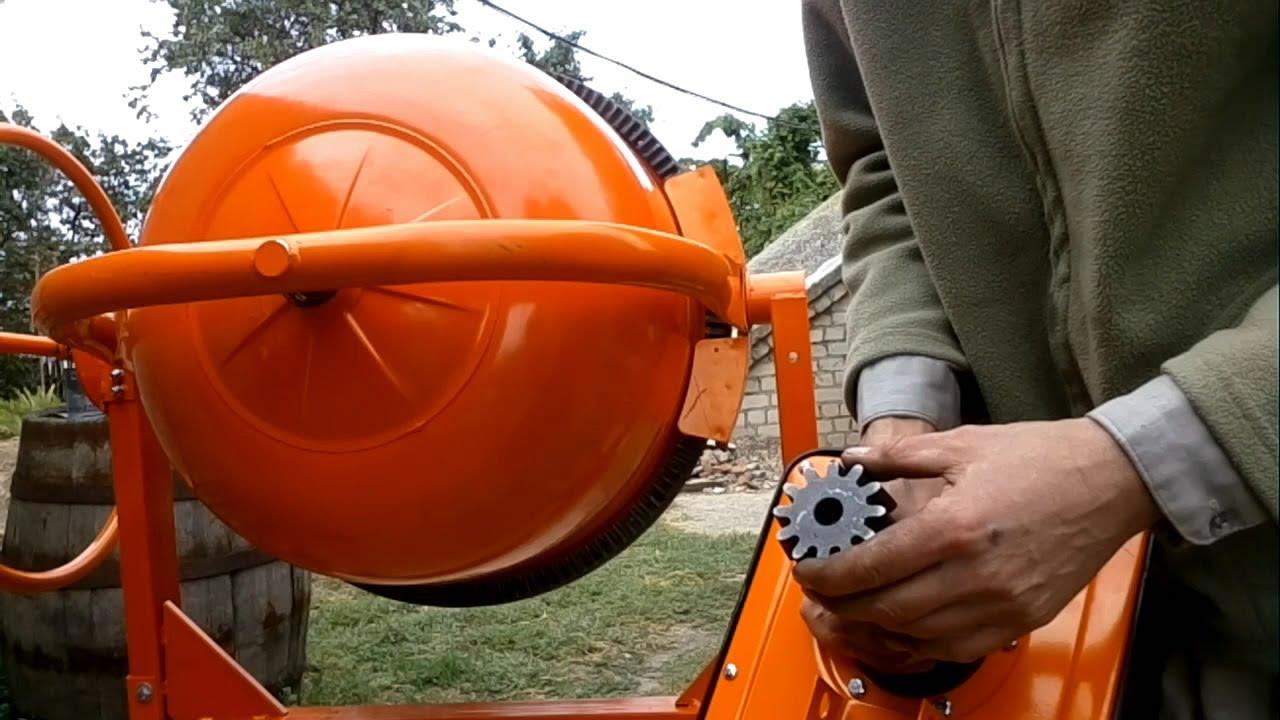Ремонт бытовой бетономешалки