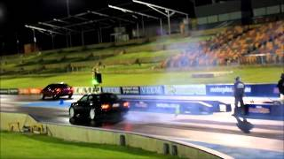 JZX100 Street Tyre Drag Night ....skids! Best of the night 11.2sec