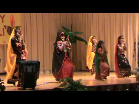 Mera Assi Kali Ka Lehnga- Diwali 2009 , Btcc, Lexington, Ky video