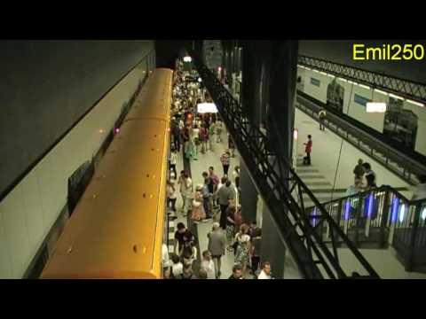 U-Bahn Berlin U55 Brandenburger Tor - Bundestag - Hauptbahnhof