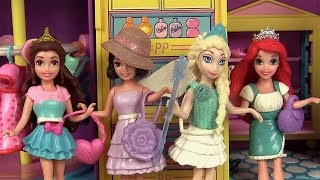 Poupées Princesses Disney Magiclip Vêtements Polly Pocket Séance d'essayage
