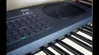 alin KORG i4S - Reggae Composition