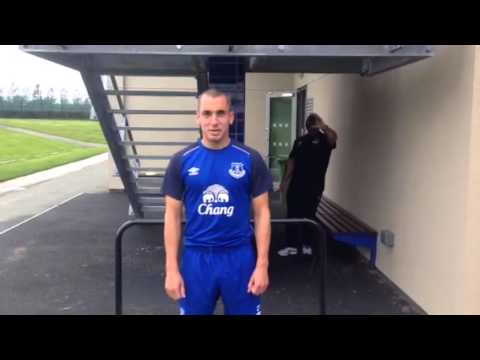 Leon Osman takes on the #IceBucketChallenge