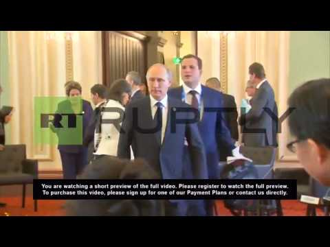 Australia: Putin, Obama, Xi and more gather as G-20 kicks off