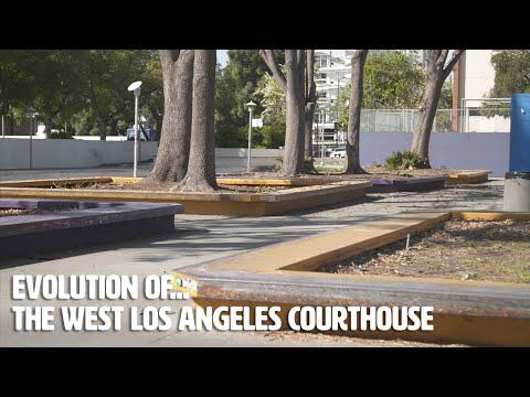 The Evolution of... The West Los Angeles Courthouse