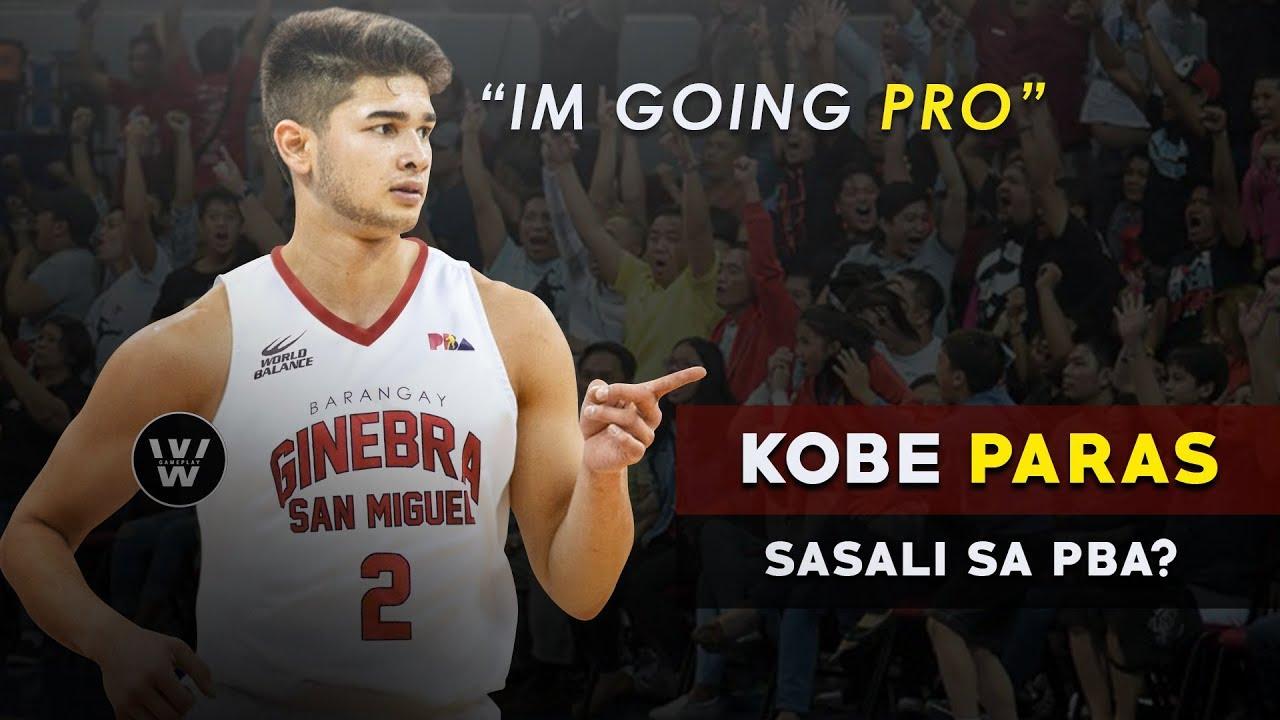 """Kobe Paras to PBA?   Ano ang Ibig n'yang sabihin na """"I'm Going Pro""""?"""