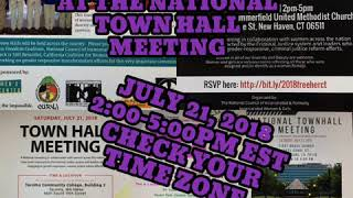 We've Got Big News At The National Town Hall Meeting