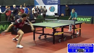 Dimitrij OVCHAROV vs LI Yang 1/4 Russian Premier League Playoff Table Tennis