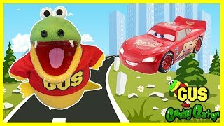 Kids Power Wheels Car Accidents and Crashing Playtime! Gus drives Ride On Car for the first time