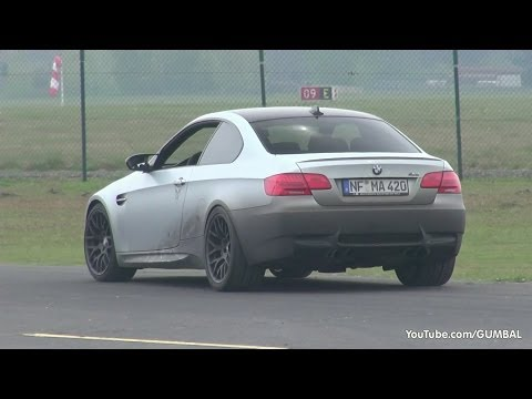 G-Power BMW E92 M3 SKII CS 600HP - Start. Revs & Dragracing!