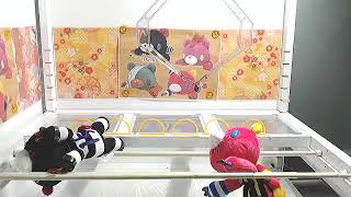 Gloomy Bear x Nanbaka anime plush UFO prize from Toreba