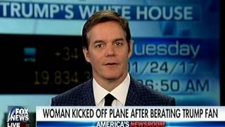 Snotty, Hateful, Intolerant Liberal Witch Is Thrown Off Plane for Verbally Attacking Trump Supporter