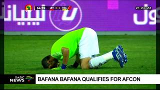 Bafana qualifies for AFCON