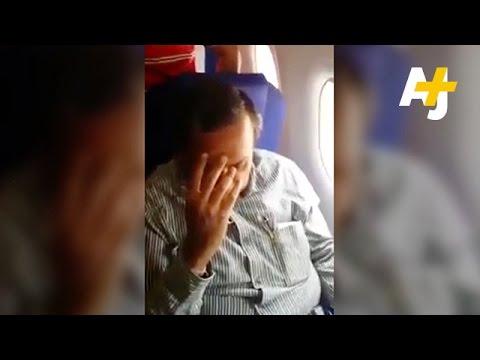 Girl Shames Man For Groping Her On Plane video