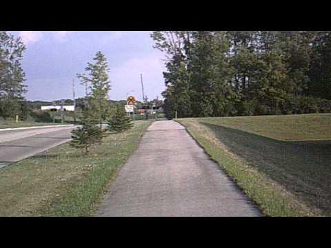 034.AVIThe Lowes Drive bike trail in Wilmington Ohio