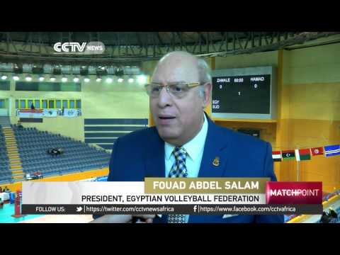 24 teams take part in the African Club Volleyball Championships in Egypt