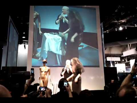 Lady Gaga unveils new Polaroid cameras at CES 2011