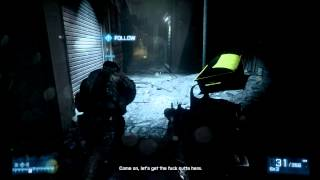 Battlefield 3 Gameplay [HD] nVidia GeForce GT 520MX