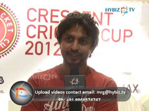 Shekar Basha, Radio Jockey, Crescent Cricket Cup 2012 Hyderabad, CCC 2012 - hybiz.tv