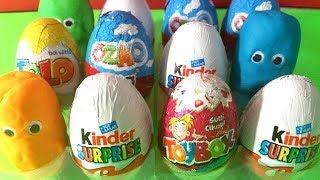 Kinder Süpriz Yumurtaları Açıyoruz