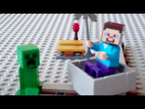 Lego Minecraft Minecart Tutorial
