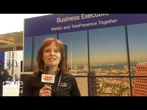 ISE 2014: Cisco Exhibits Business Executive Booth, Launching New WebEx TelePresence Capability