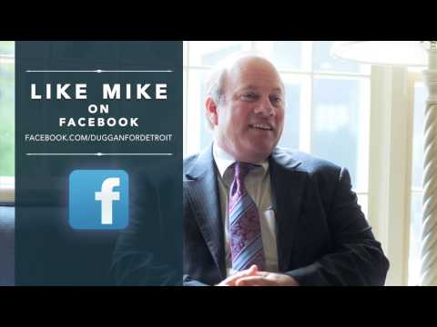 Mike Duggan talks crime reduction