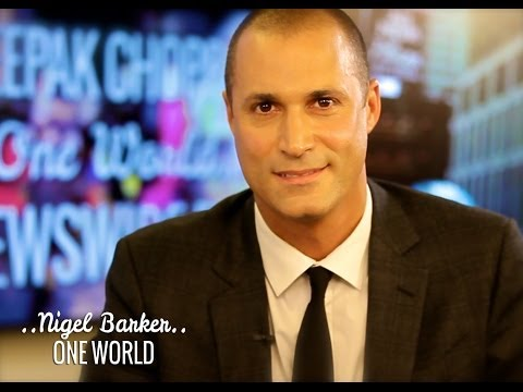 Nigel Barker and Deepak Chopra | ONE WORLD
