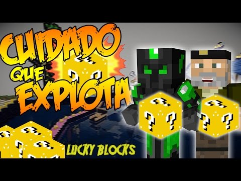 CUIDADO QUE EXPLOTA!! - Willyrex vs sTaXx - Carrera épica Lucky Blocks - MINECRAFT