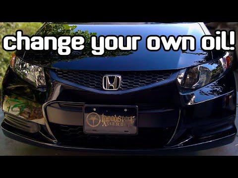 2012 Honda Civic LX Oil Change