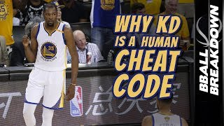 Why KEVIN DURANT Is A Human CHEAT CODE