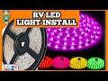 RV EXTERIOR LED LIGHT INSTALLATION | STEP BY STEP GUIDE