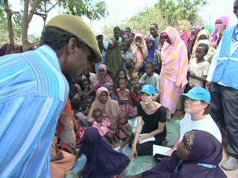 Angelina Jolie Visits UNHCR Operation in Dadaab, Kenya