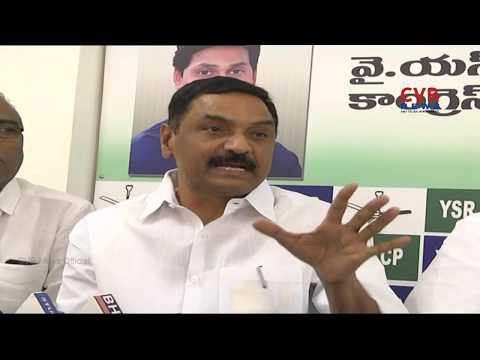YCP MLA Raghuram Reddy Slams CM Chandrababu Naidu over Kadapa Tour | CVR News