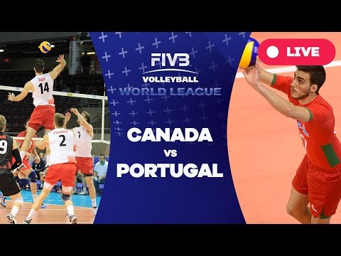 Canada v Portugal - Group 2: 2016 FIVB Volleyball World League