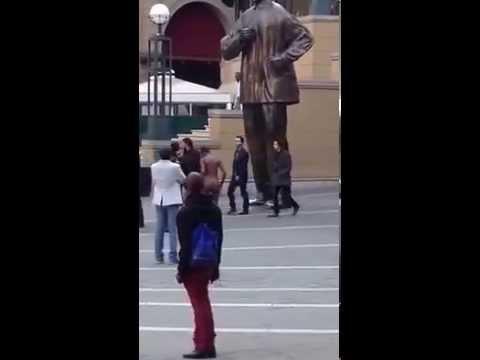 Naked Salute For Madiba... video