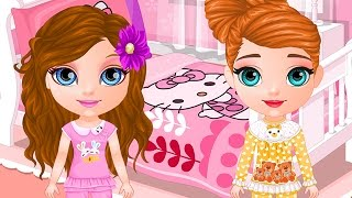 Baby Barbie Pj Party Game - Barbie Baby Games - Dora the Explorer