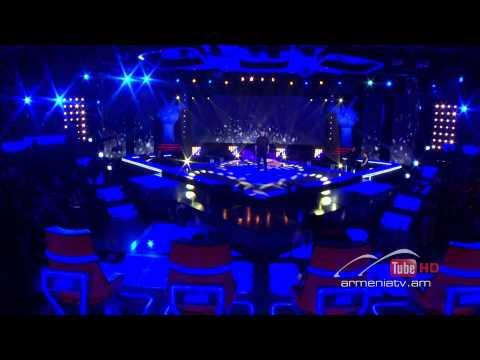 Vahe Aleqsanyan - Earth Song by Michael Jackson -- The Voice of Armenia