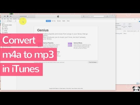 How to Convert M4A to MP3 in iTunes on Windows - Step by Step Tutorial - Guide - 2018