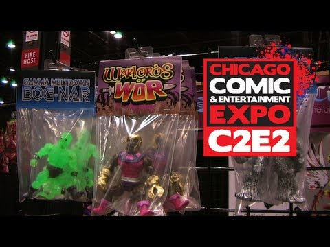 Warlords of Wor by ManOrMonster Studios Interview at C2E2 2013