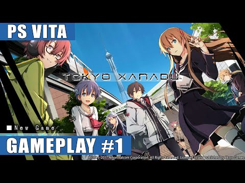 Tokyo Xanadu English PS Vita Gameplay #1 (Prologue, Chapter 1: The Eclipse)