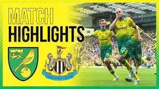 HIGHLIGHTS | Norwich City 3-1 Newcastle United | Teemu Pukki Hat-Trick