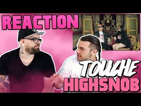 HIGHSNOB - TOUCHE | RAP REACTION 2017 | ARCADE BOYZ