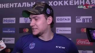 Сергей Плотников: «Выстояли в меньшинстве и забили свои голы»