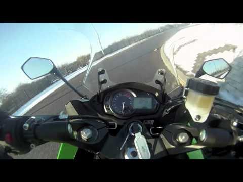 Video: Kawasaki Z1000SX v Yamaha FZ1 Fazer