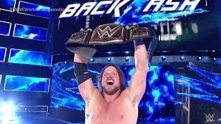 WWE BackLash 2016: Dean Ambrose VS AJ Styles - (WWE World Championship) - (PS4)