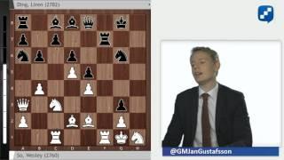 Wesley So - Ding Liren: A battle in the King
