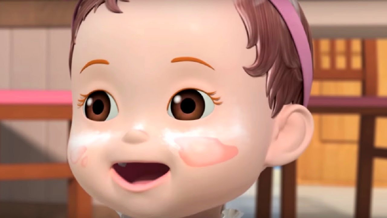 Консуни (мультик) - сборник - Старшая сестра + песенка купание  - Cartoons For Children